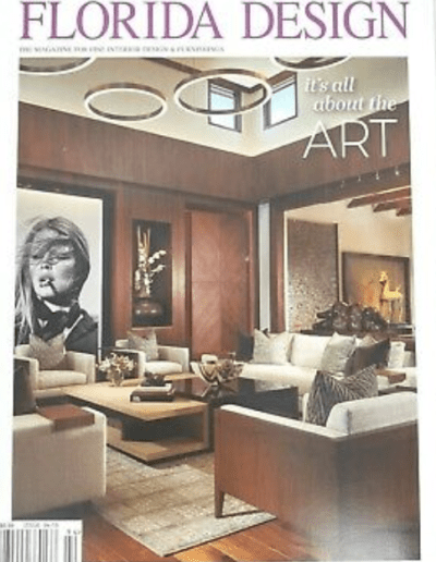 Florida Design Magazine, South Florida, Canam Cabinet, Fl.