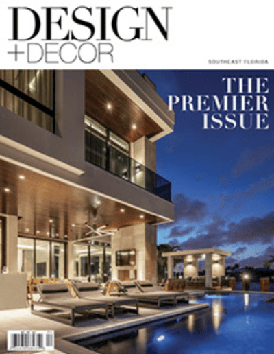 Design and Decor Magazine featuring Canam Cabinet Corporation